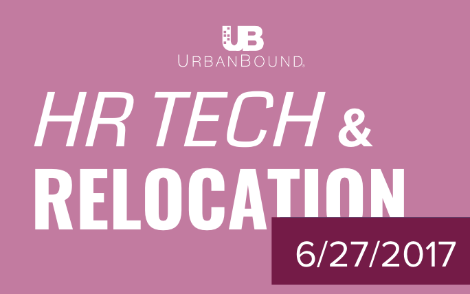 Urbanbound HR tech and Relocation in todays News
